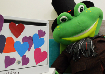 St. Valentine's Day in Frog School