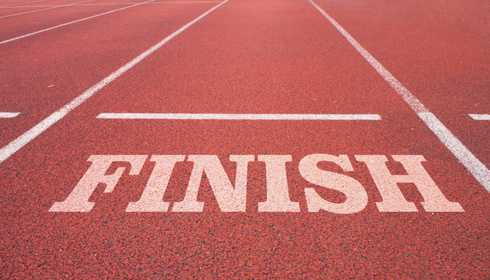 finish line business english